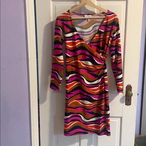 Jude Connally Dresses & Skirts - EUC Jude Connally Diane Faux Wrap